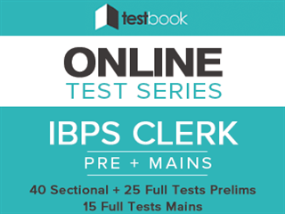 Testbook IBPS Clerk Online Test Series Review