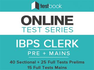 Testbook IBPS Clerk Online Test Series Review